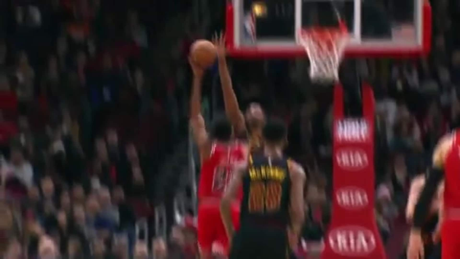 Thompson Gets Up and Sends Back Shot