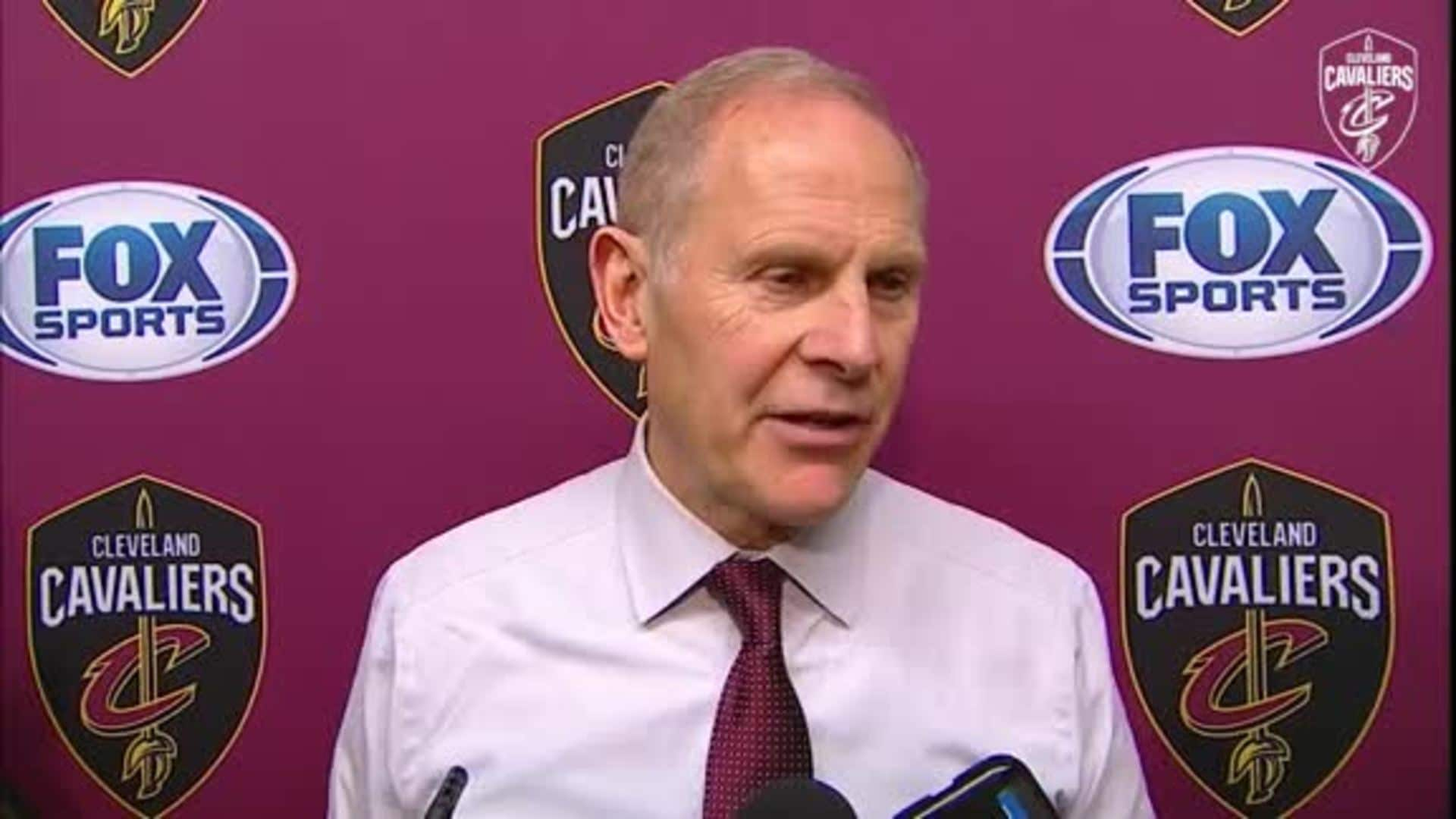 Cavs at Bulls Postgame: Coach Beilein