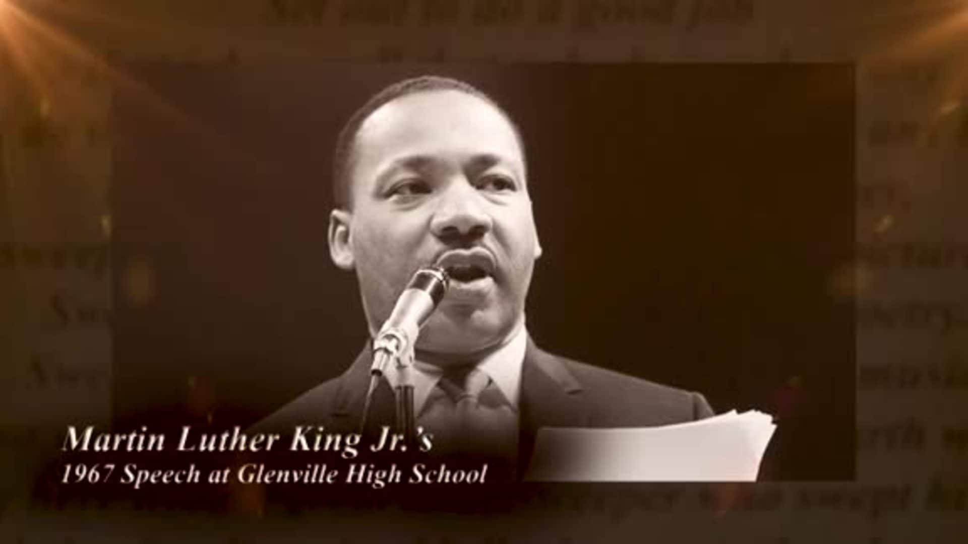Cavs Recite MLK's Famous Glenville High School Speech