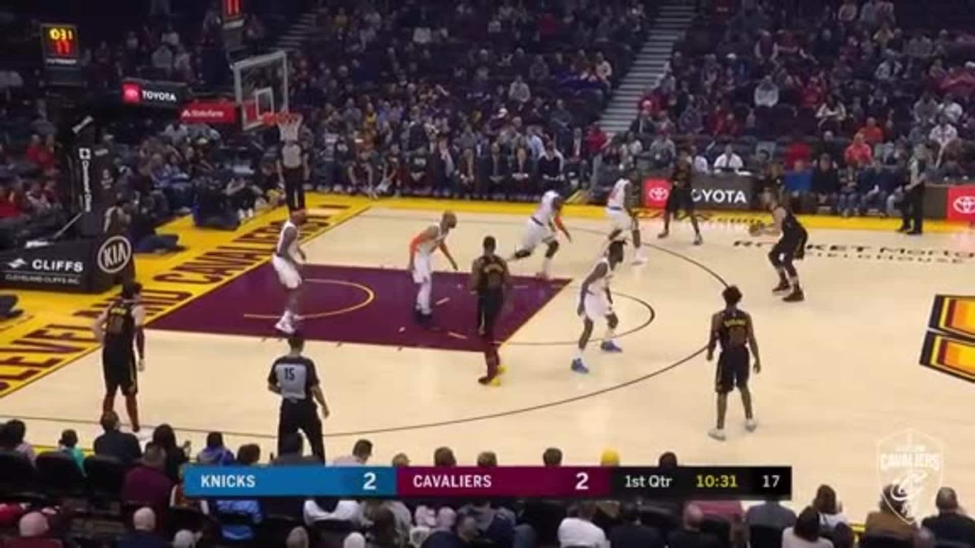 KLove Drains Two Triples Early