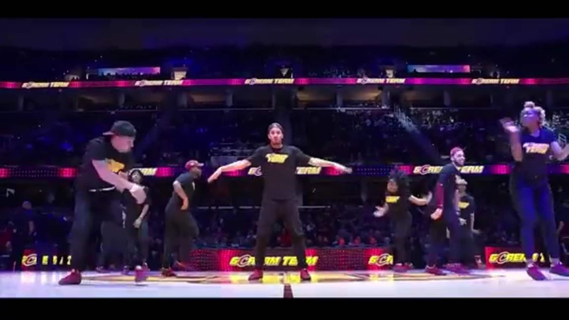 Cavs Scream Team Performs a Tribute Mix on MLK Day