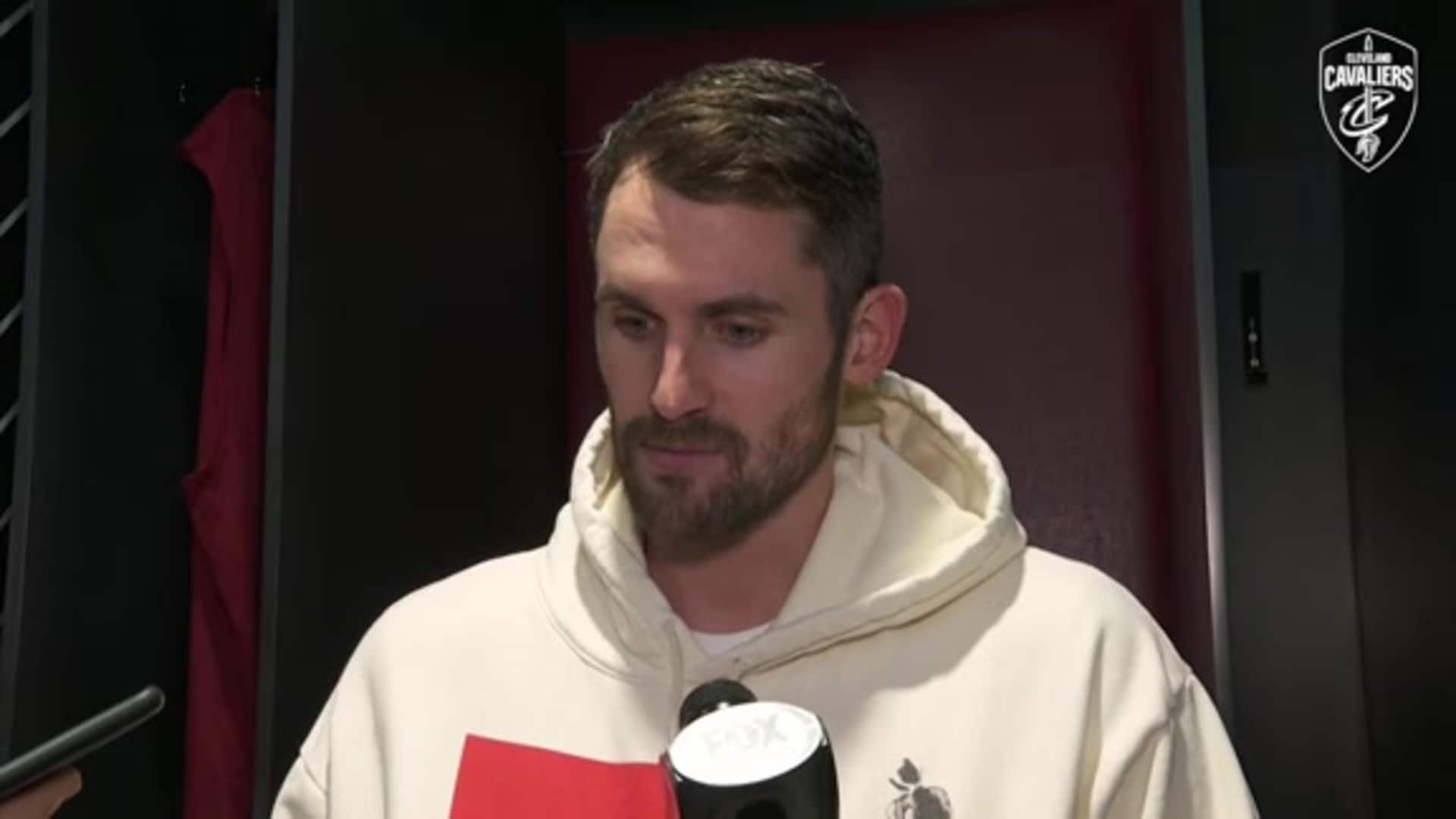 Cavs vs. Knicks Postgame: Kevin Love