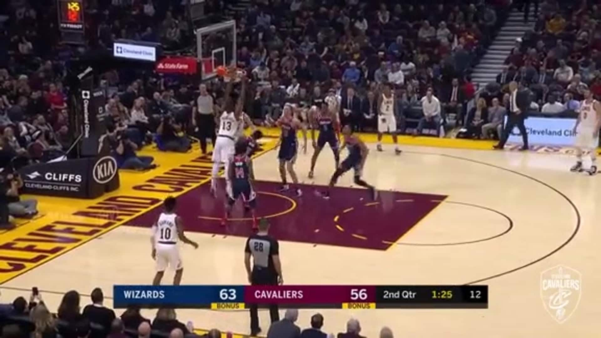 Cedi Finds Tristan for the Alley-Oop