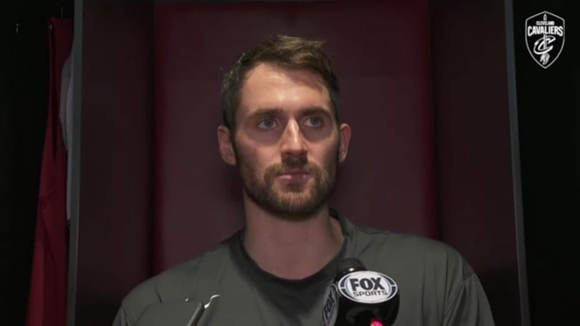 Cavs vs. Wizards Postgame: Kevin Love