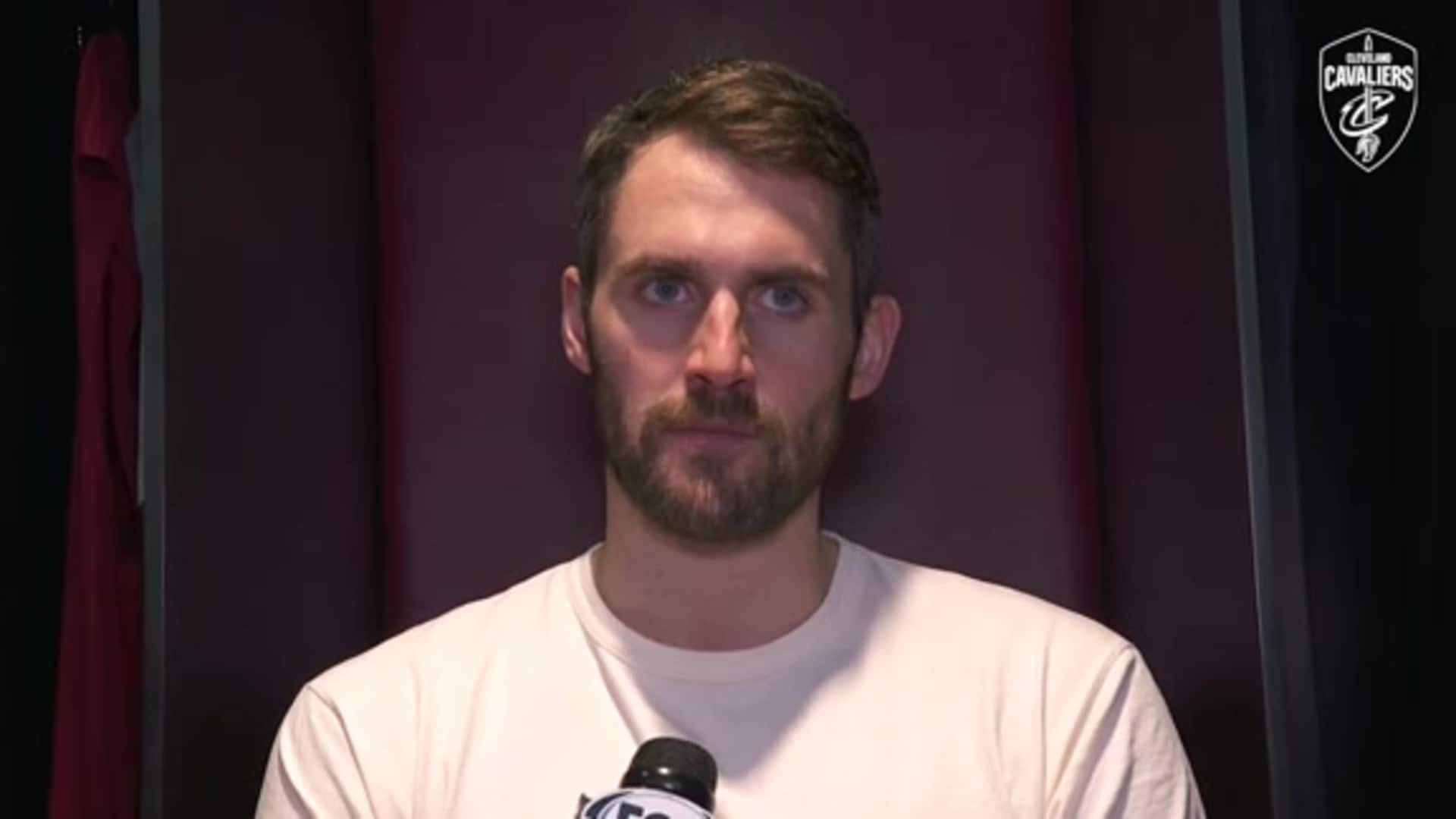 Cavs vs. Bulls Postgame: Kevin Love