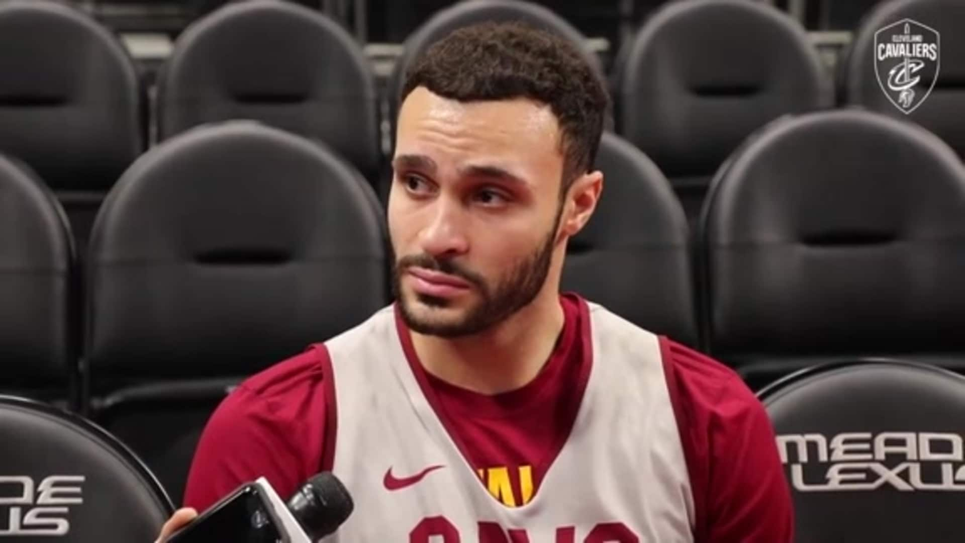 Cavs at Pistons Shootaround: Larry Nance Jr.