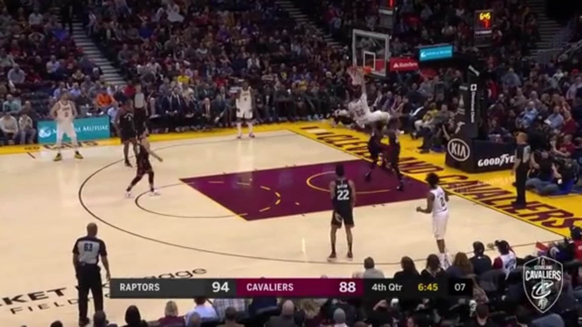 Nance Puts Norman Powell on a Poster