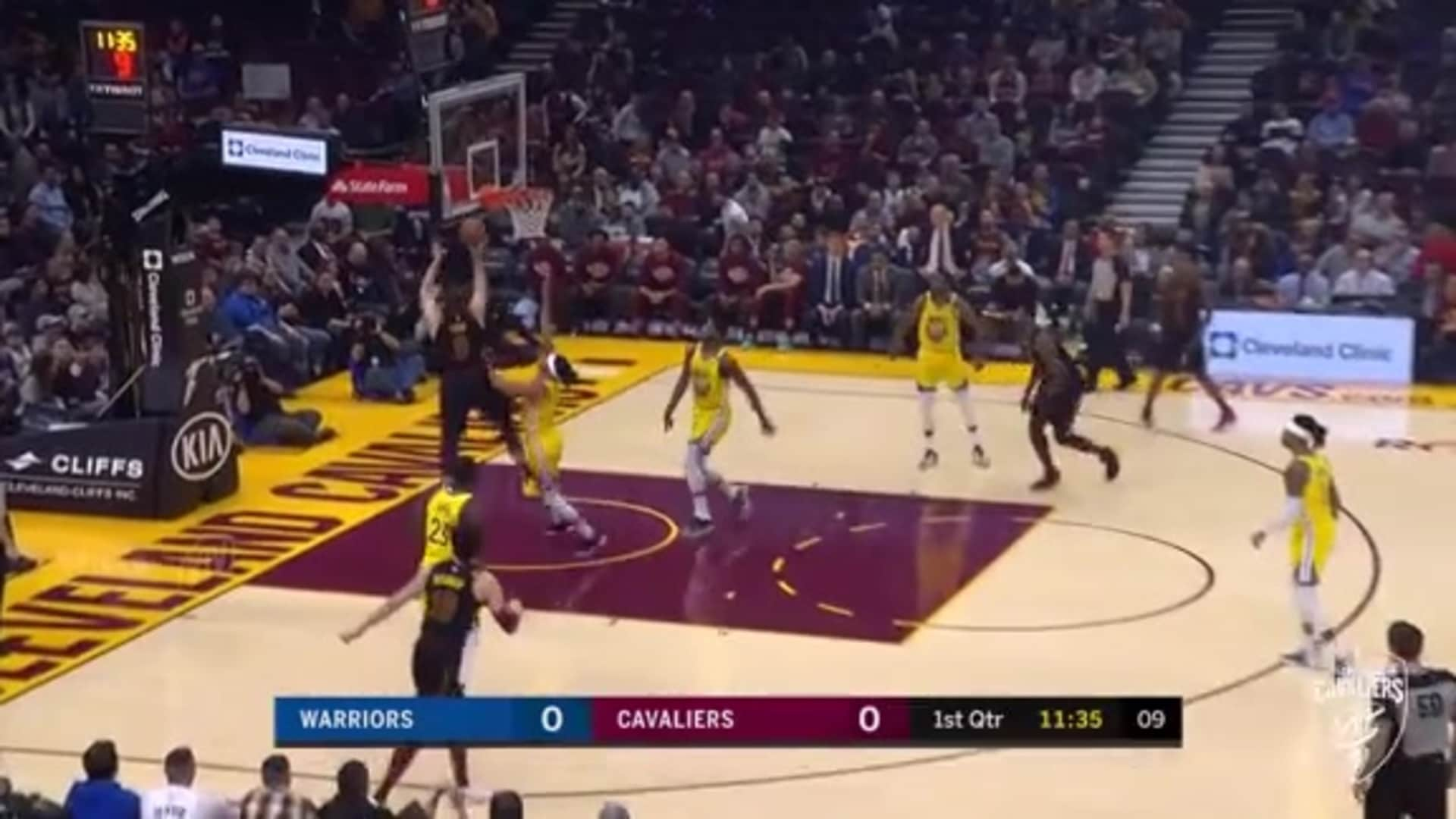 Garland's Pass Sets Up Love Basket