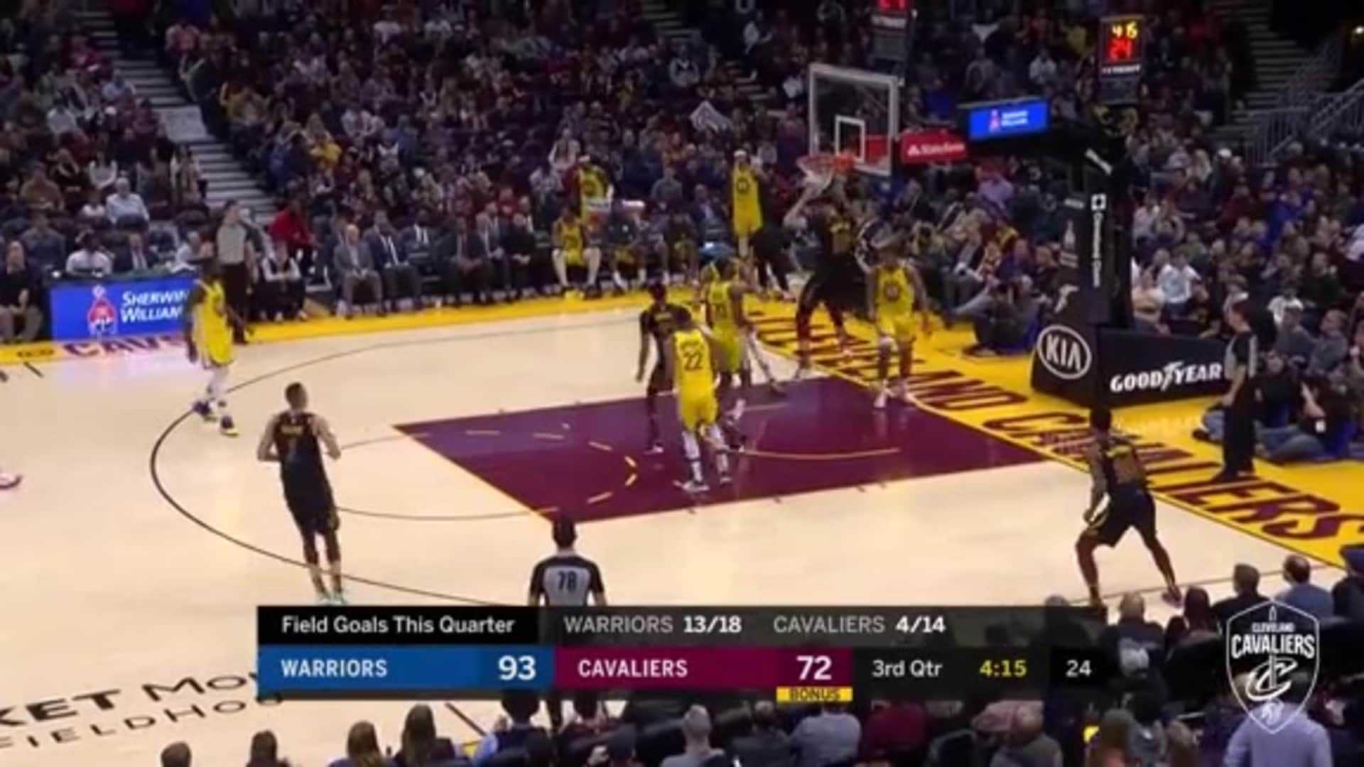 Nance Goes Up and Under for Jam