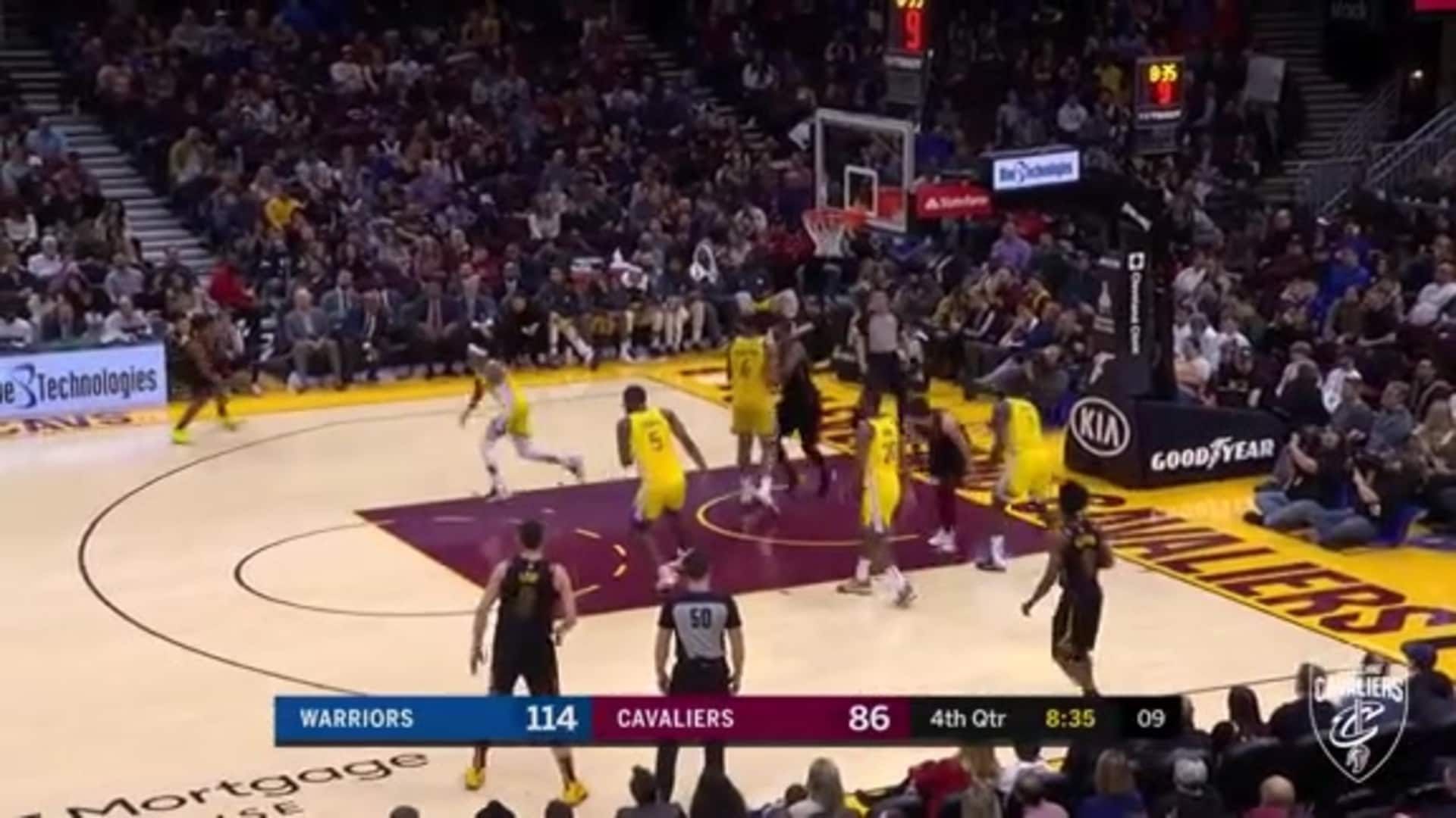 Cedi Finds Garland for Three