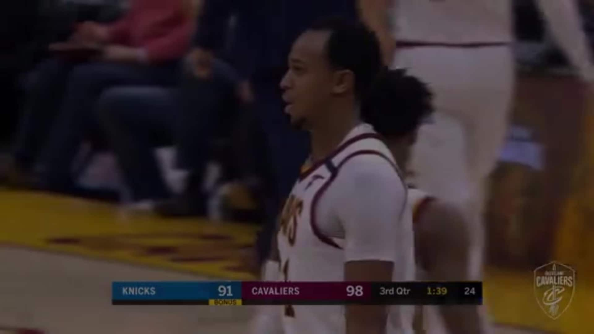 John Henson Scores, Gets Fouled in the Process