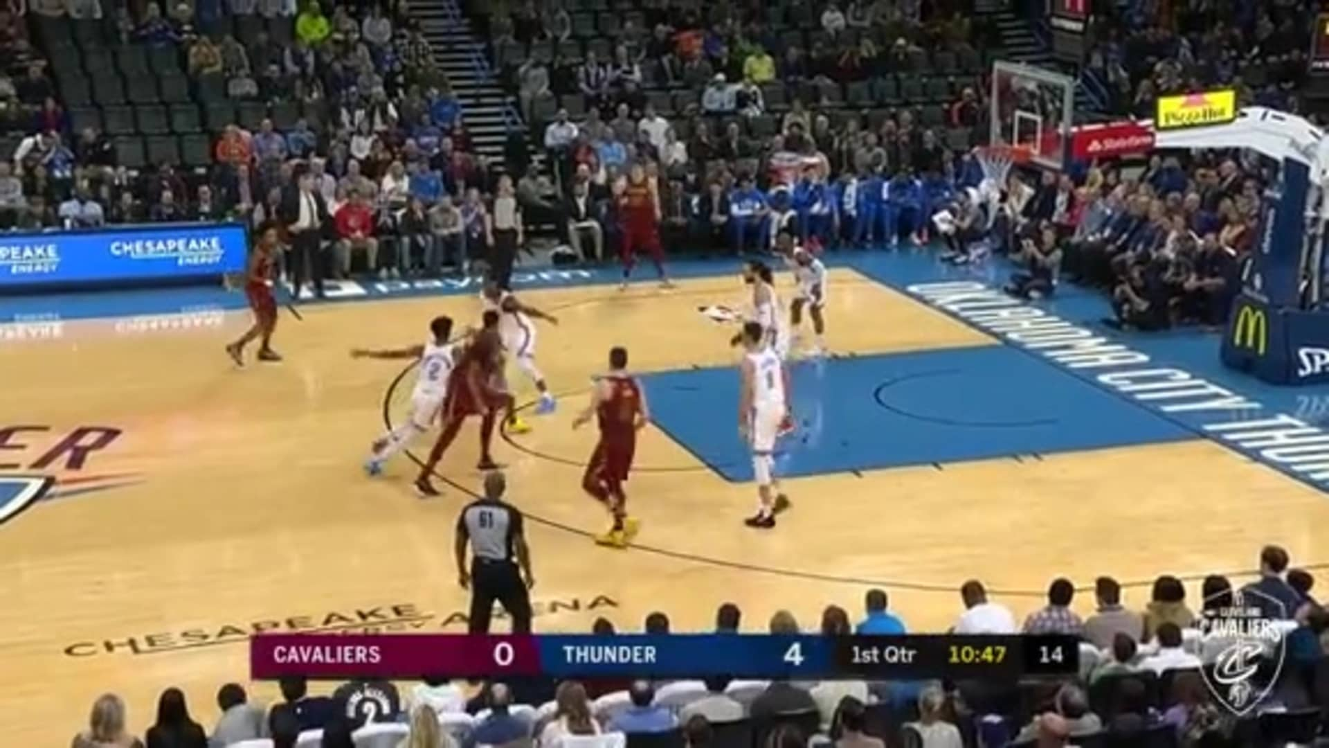 Garland's Floater Rattles In
