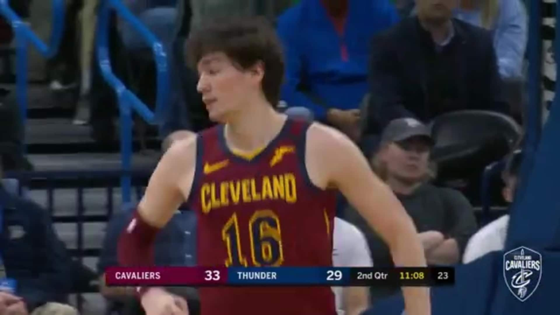 Cavs Ball Movement Leads to Bucket