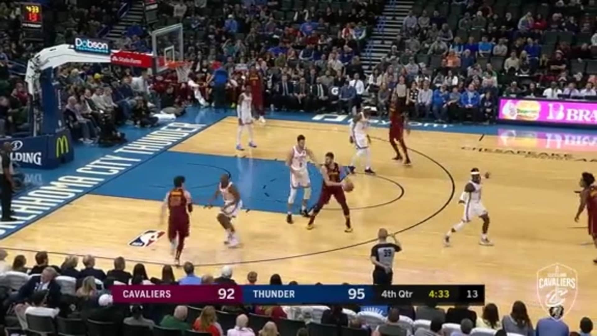 Love's Pass Leads to Cedi's And-One
