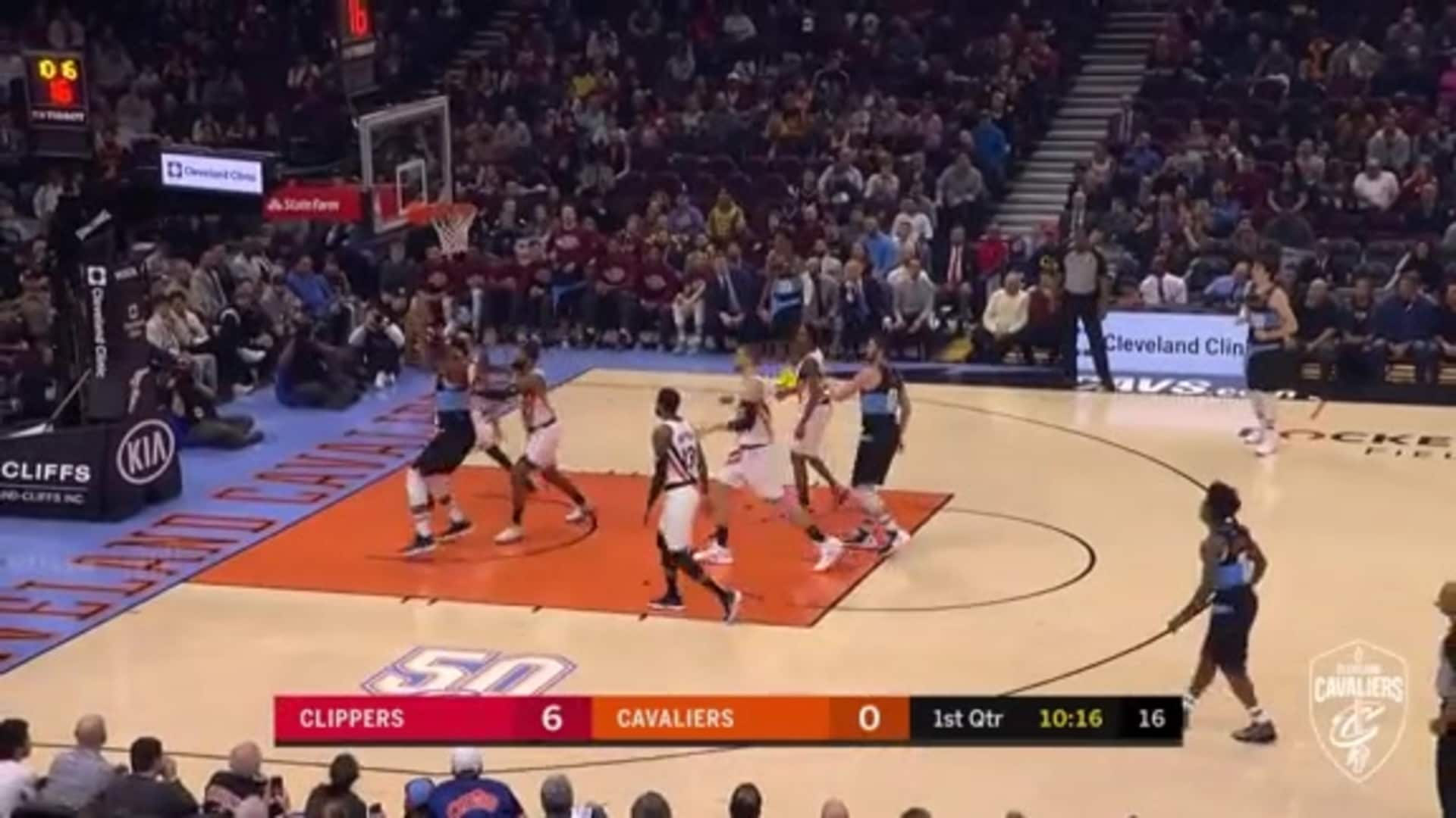 Drummond's First Points as a Cavalier