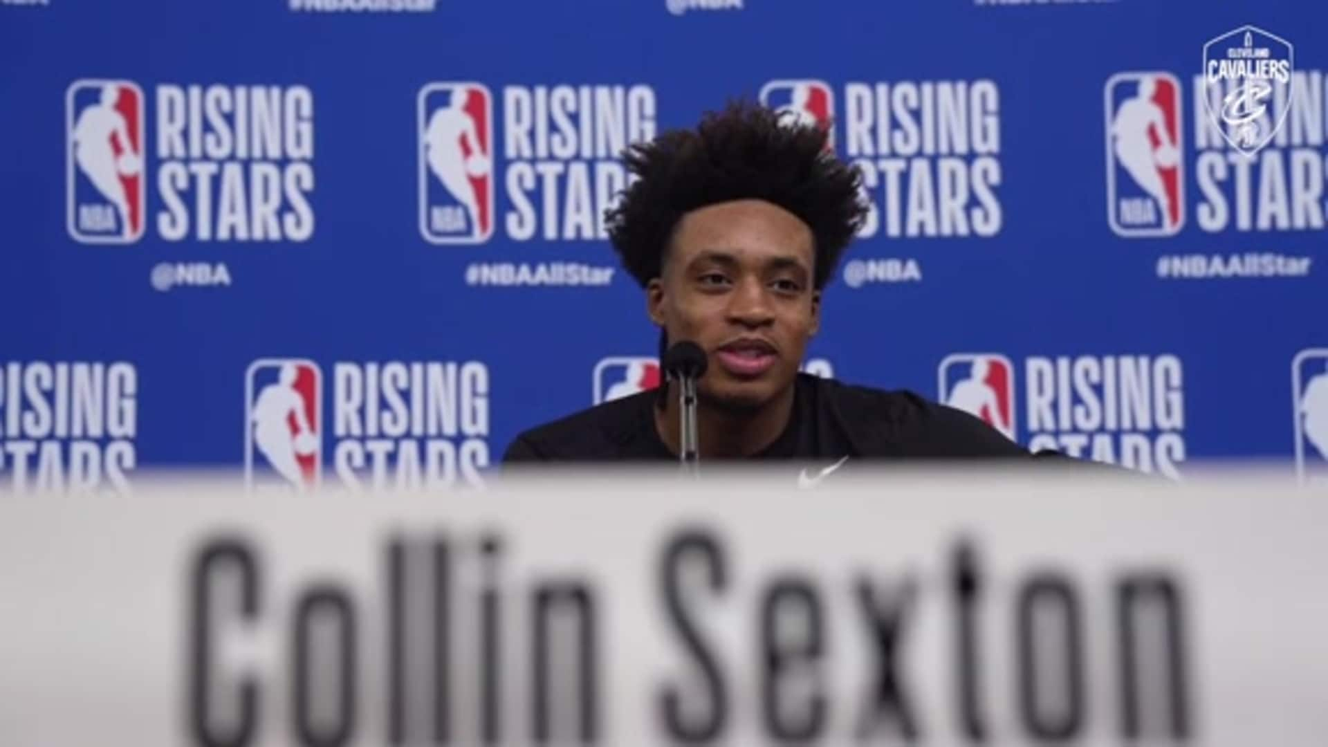 Rising Stars Media Availability - Collin Sexton