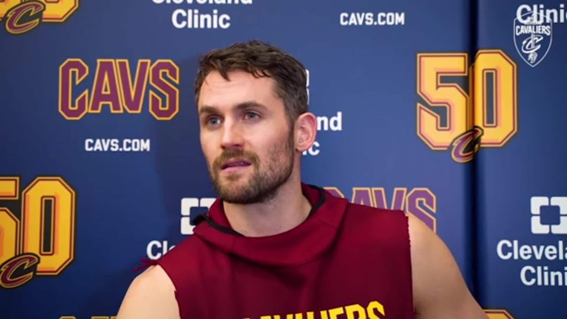 Practice: Kevin Love