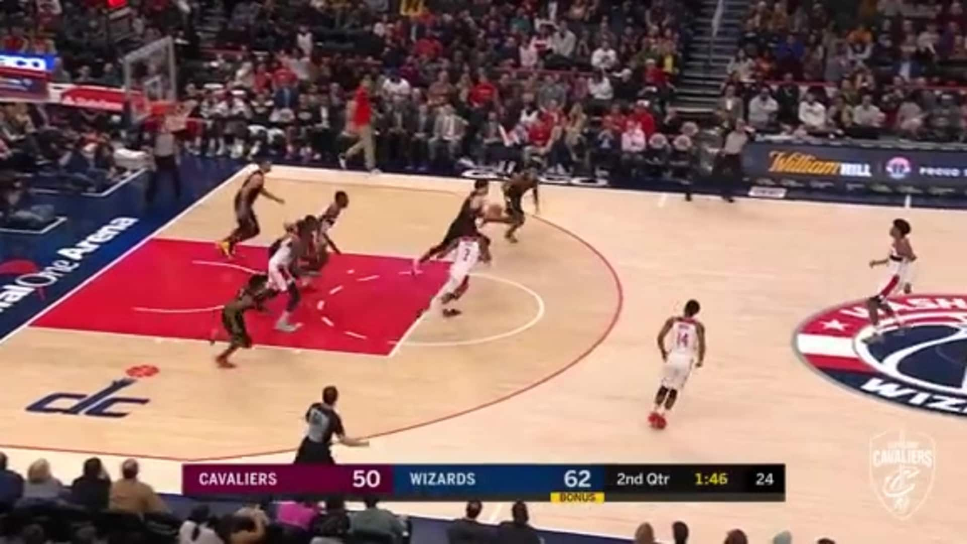 Cedi Scores Coast-to-Coast Lay-Up