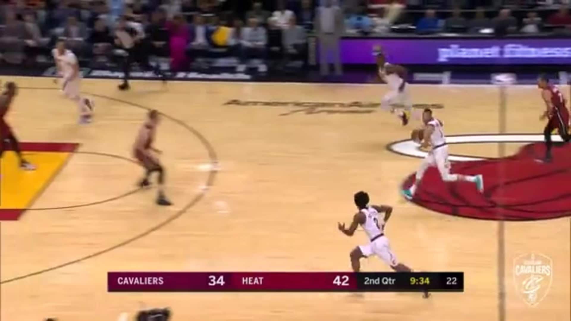 Sexton's Wrap Around Pass to Nance