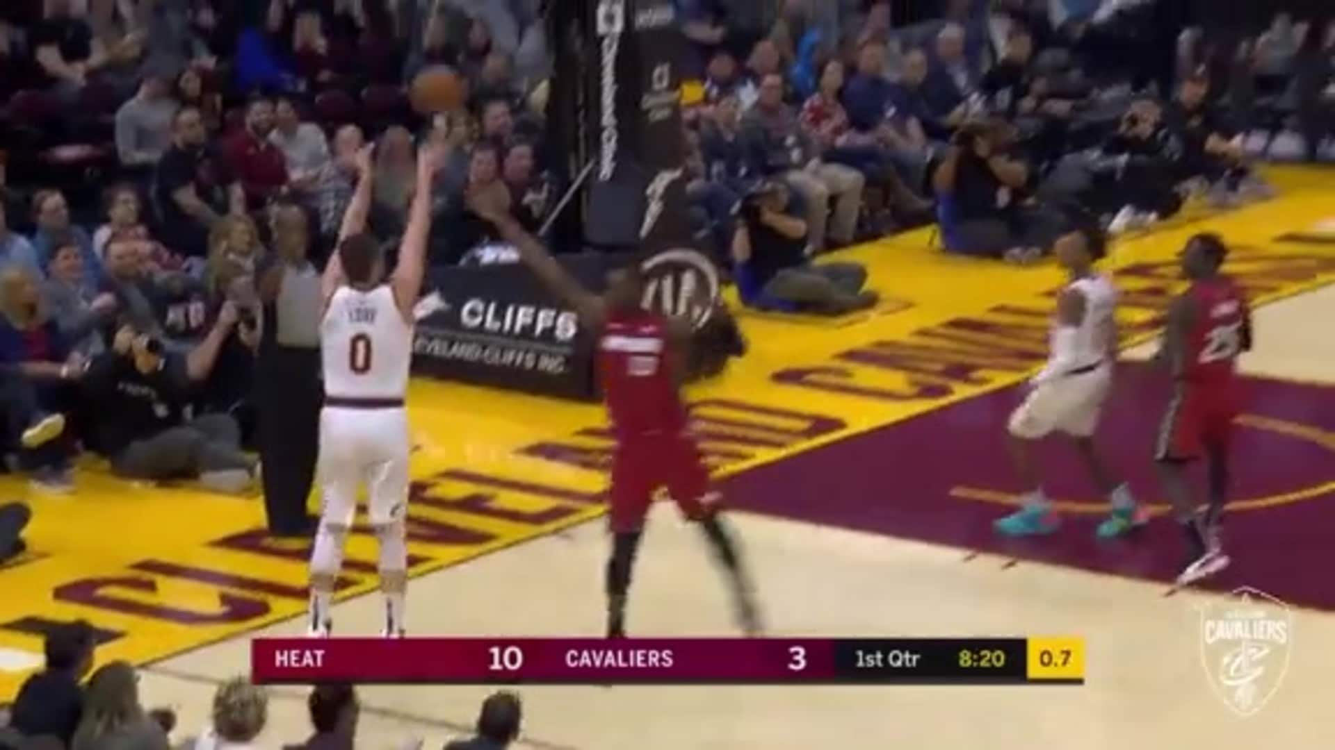 KLove as the Shot Clock Expires