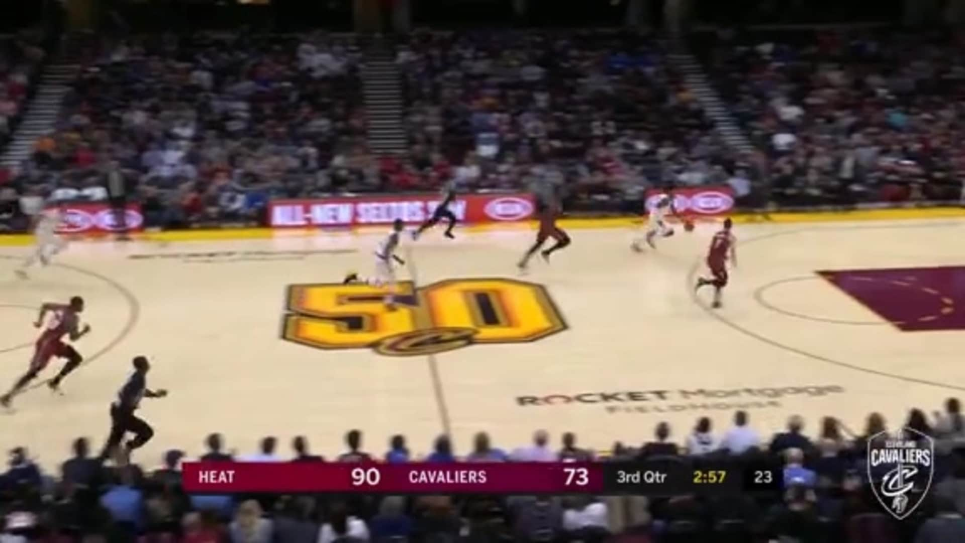 Porter Jr. Steals and Scores On the Other End
