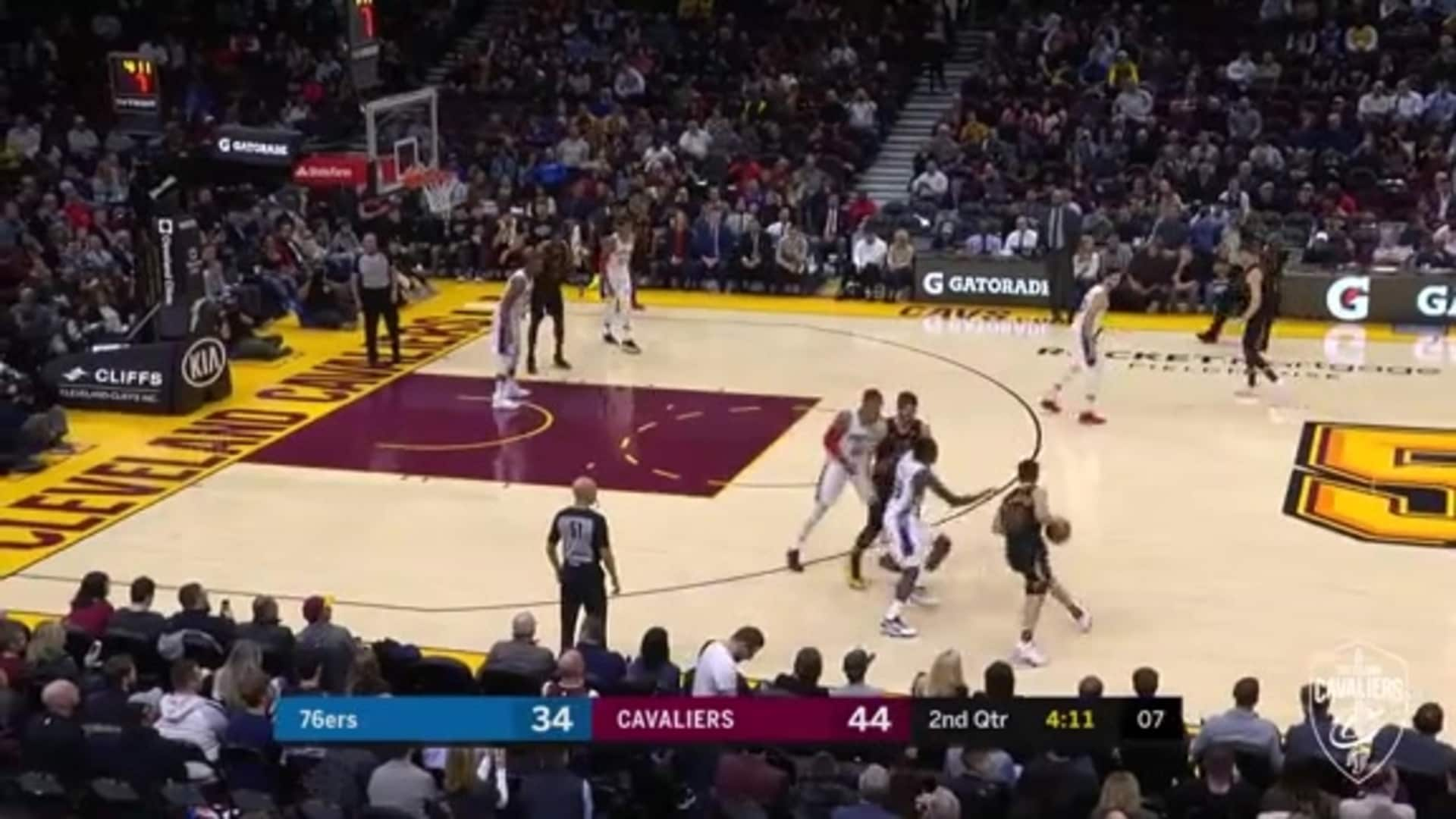 Delly's Circus Lay-Up is Good