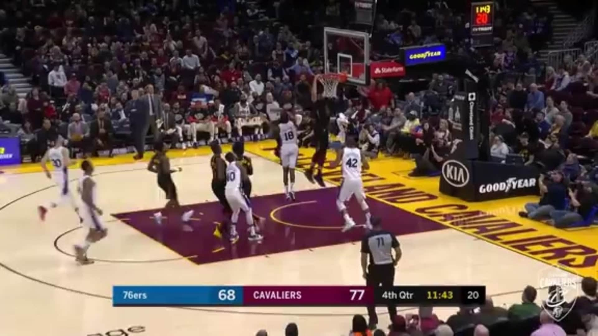 Cavaliers Run Fast Break to Perfection