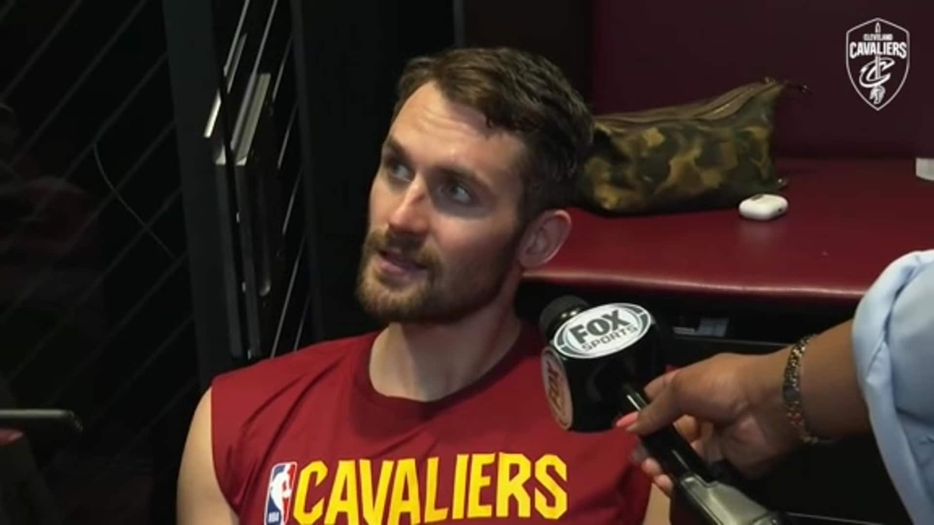 Cavs at Sixers Postgame: Kevin Love