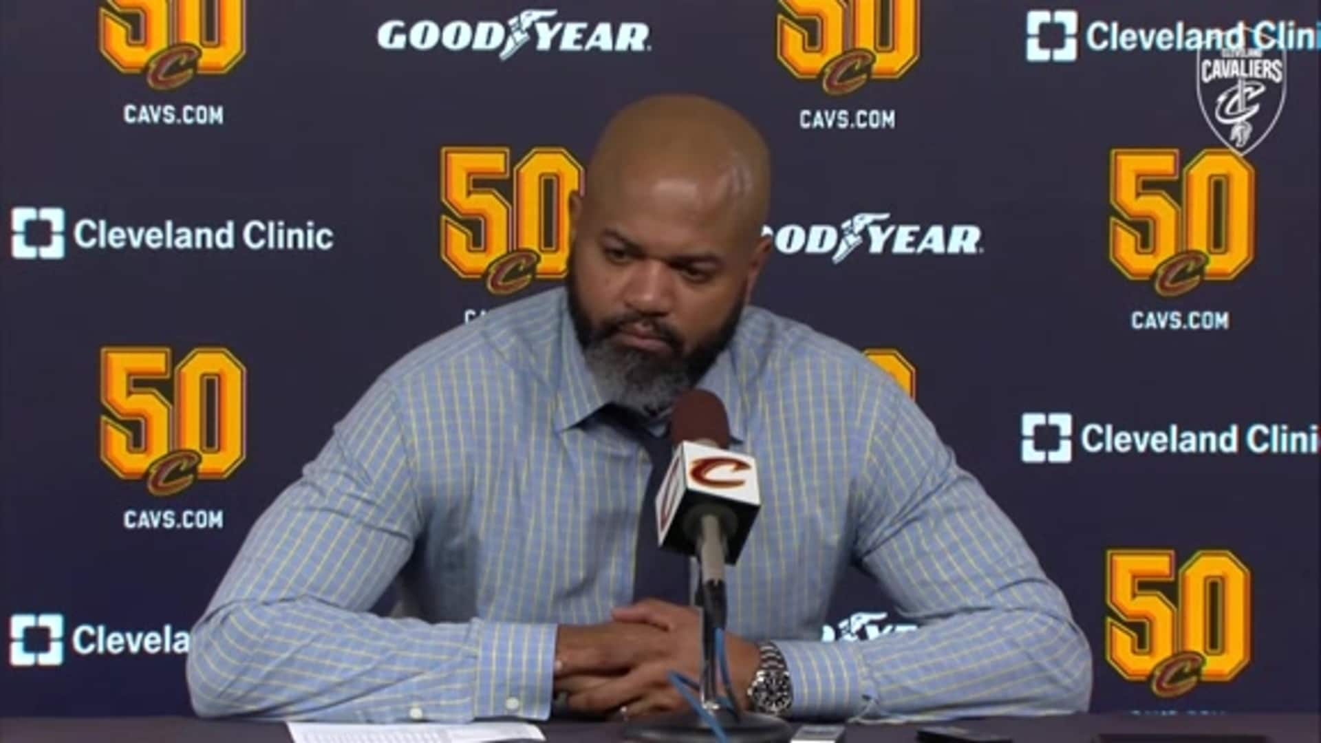 Cavs at Sixers Postgame: Coach Bickerstaff