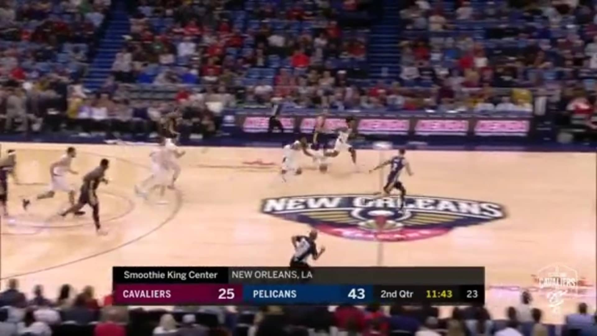 KPJ Gets Steal and Assist in Perfect Fast Break