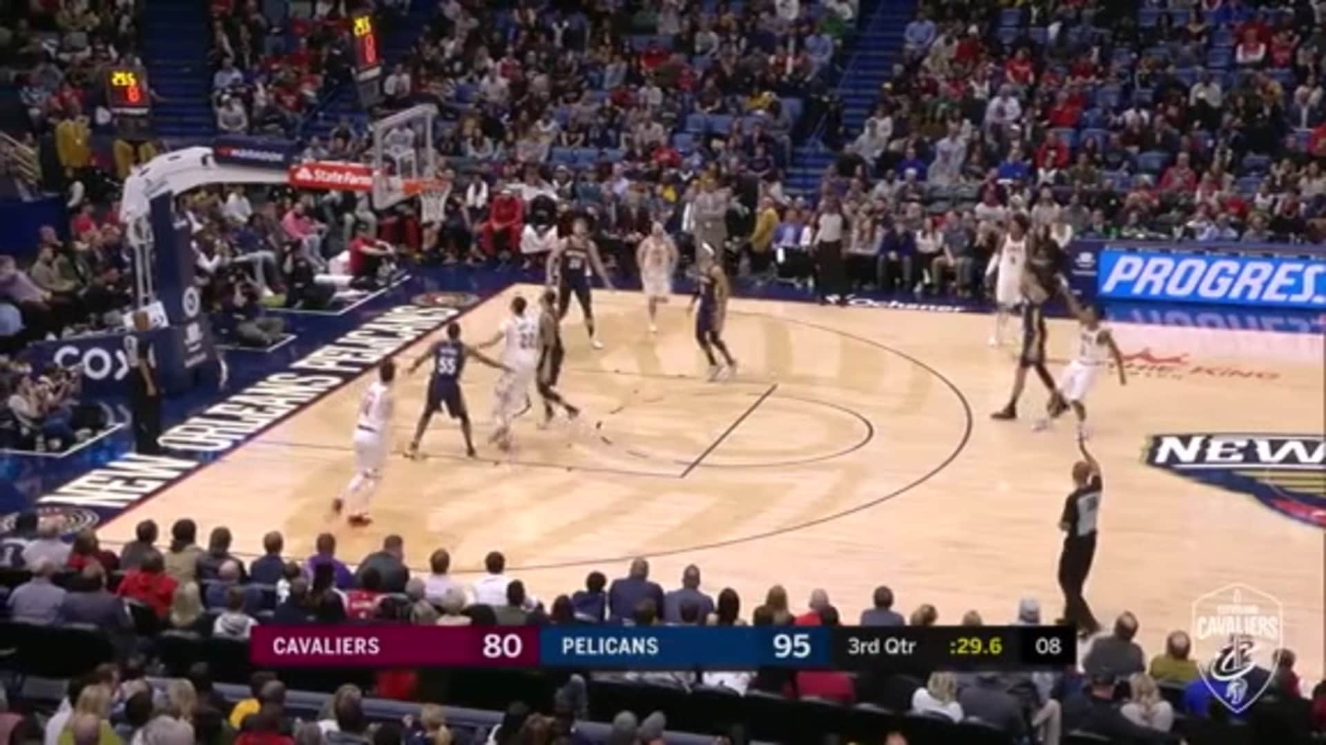 Cavs Back In it After Sexton's Three Third Quarter Triples