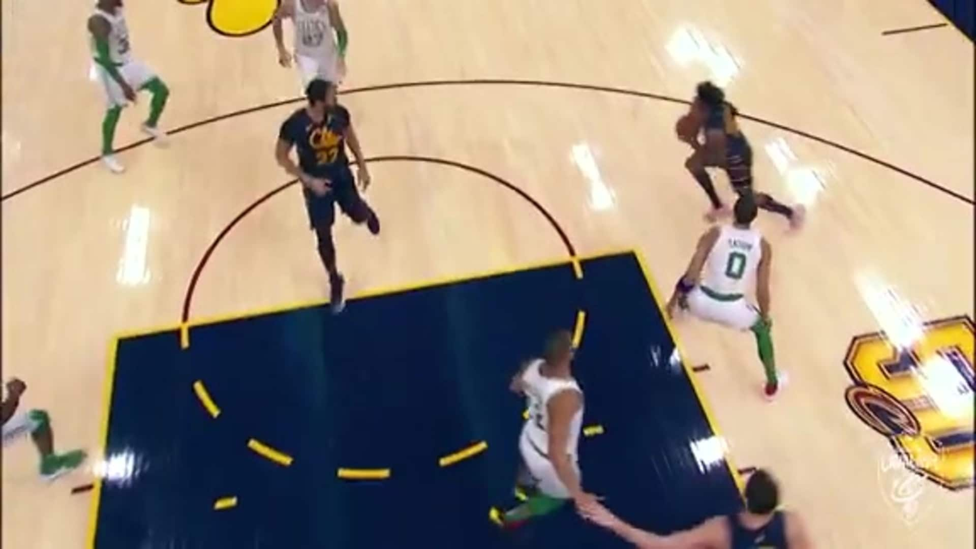 KPJ Threads the Needle with Great Pass