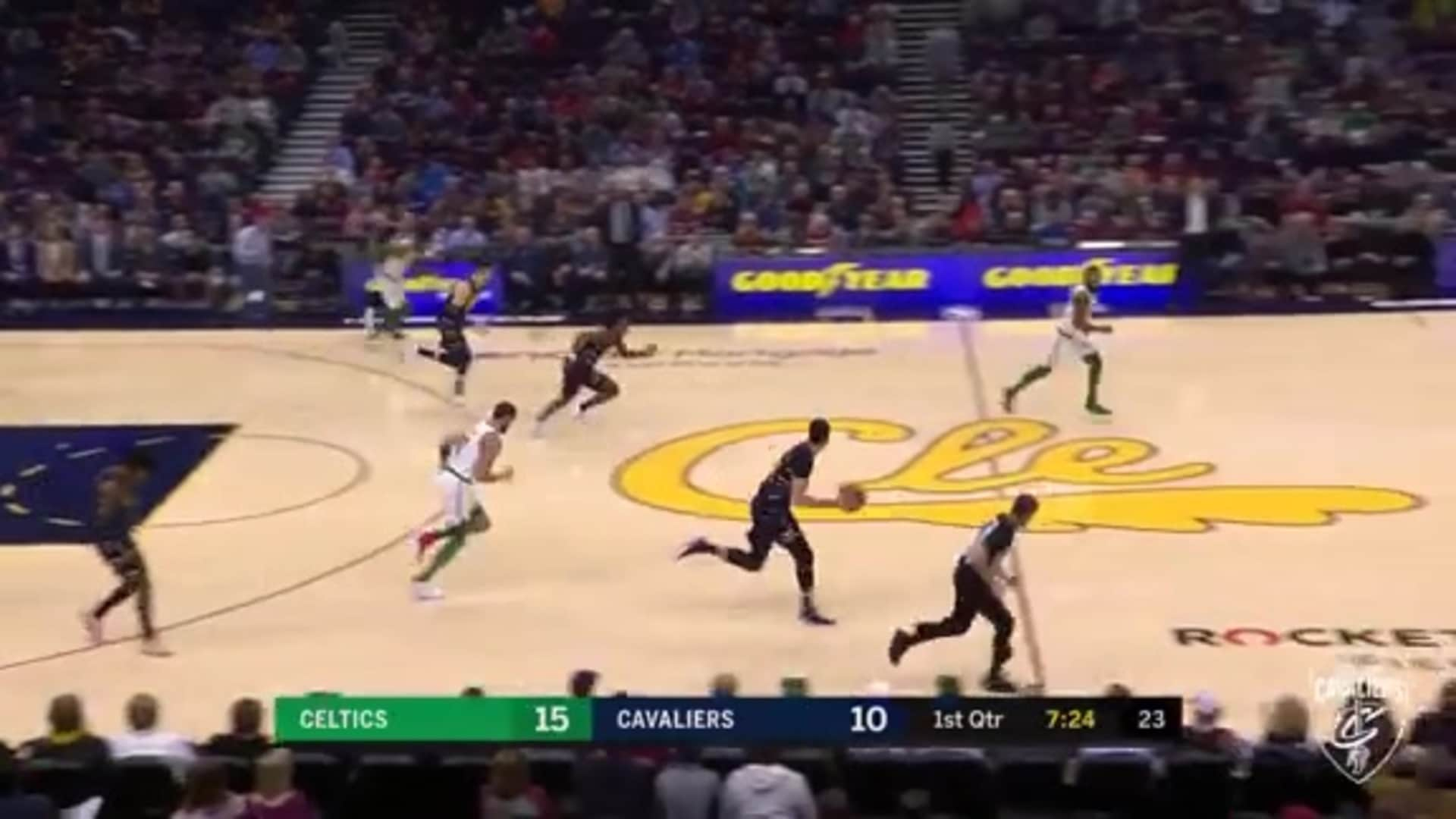 Nance Steals and Scores