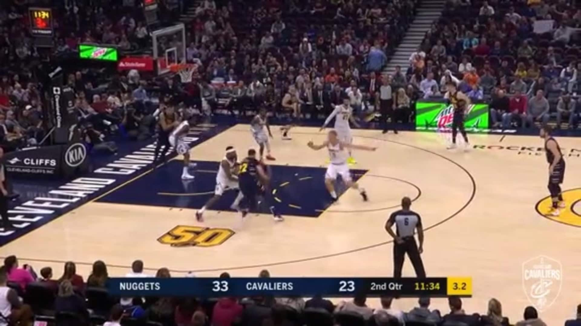 Nance Spins & Wins in the Paint