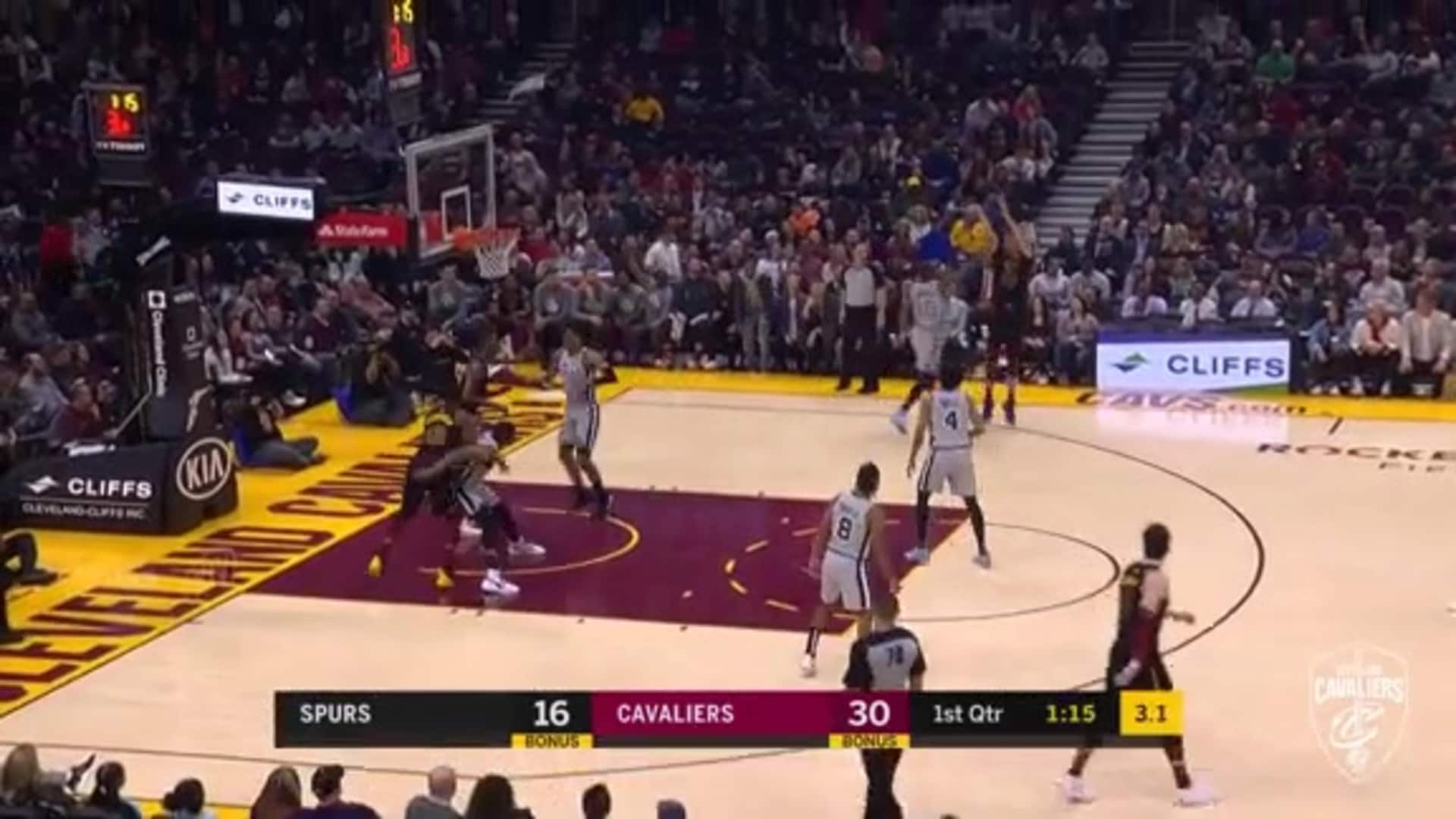 Cedi Shows Off His Passing Skills with Two Crafty Assists