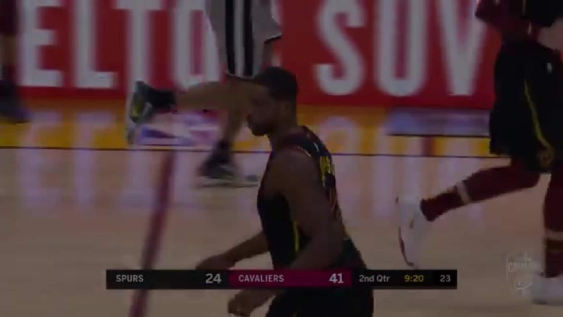 Thompson Spins and Scores Inside