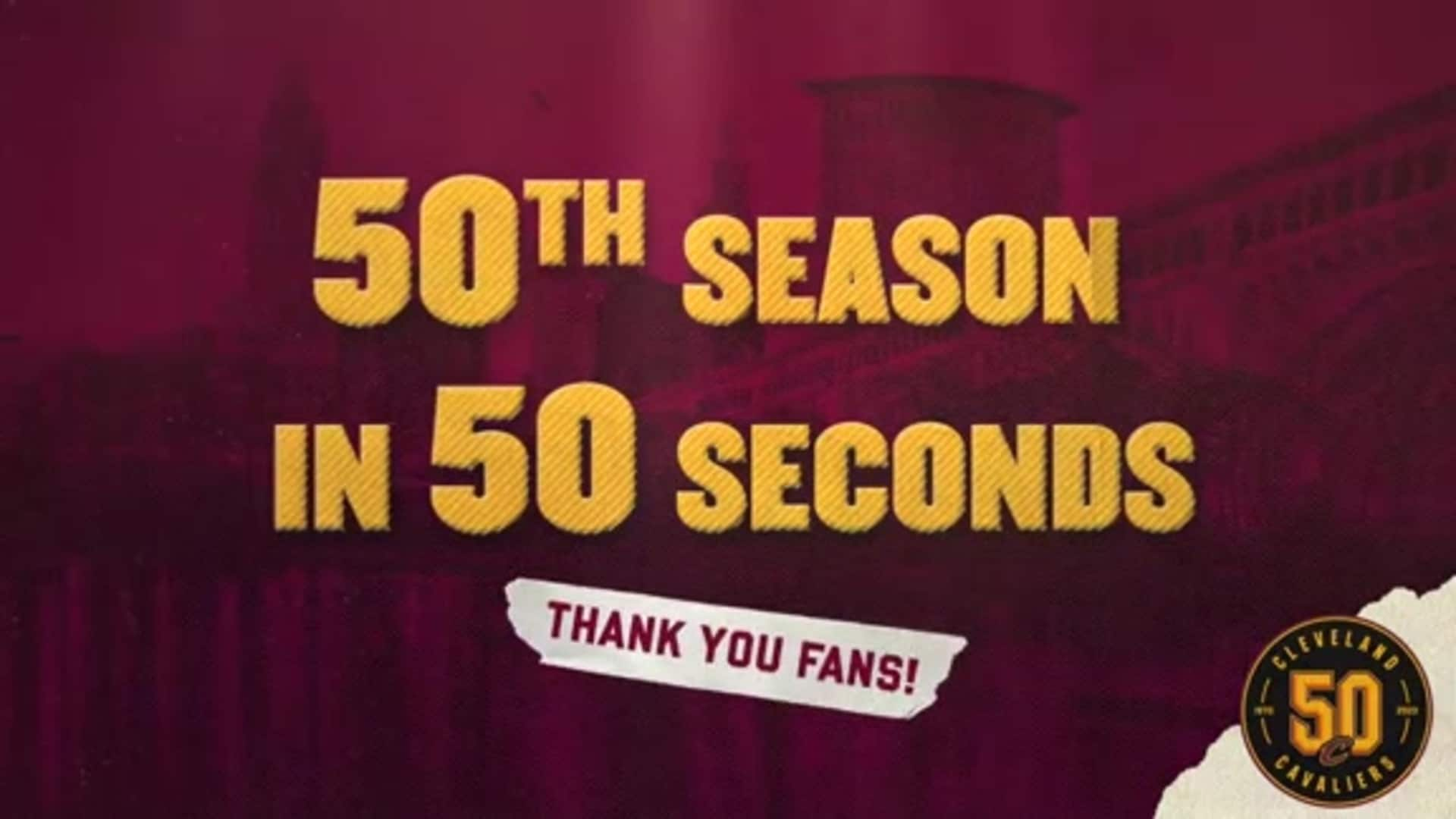 50th Season in 50 Seconds