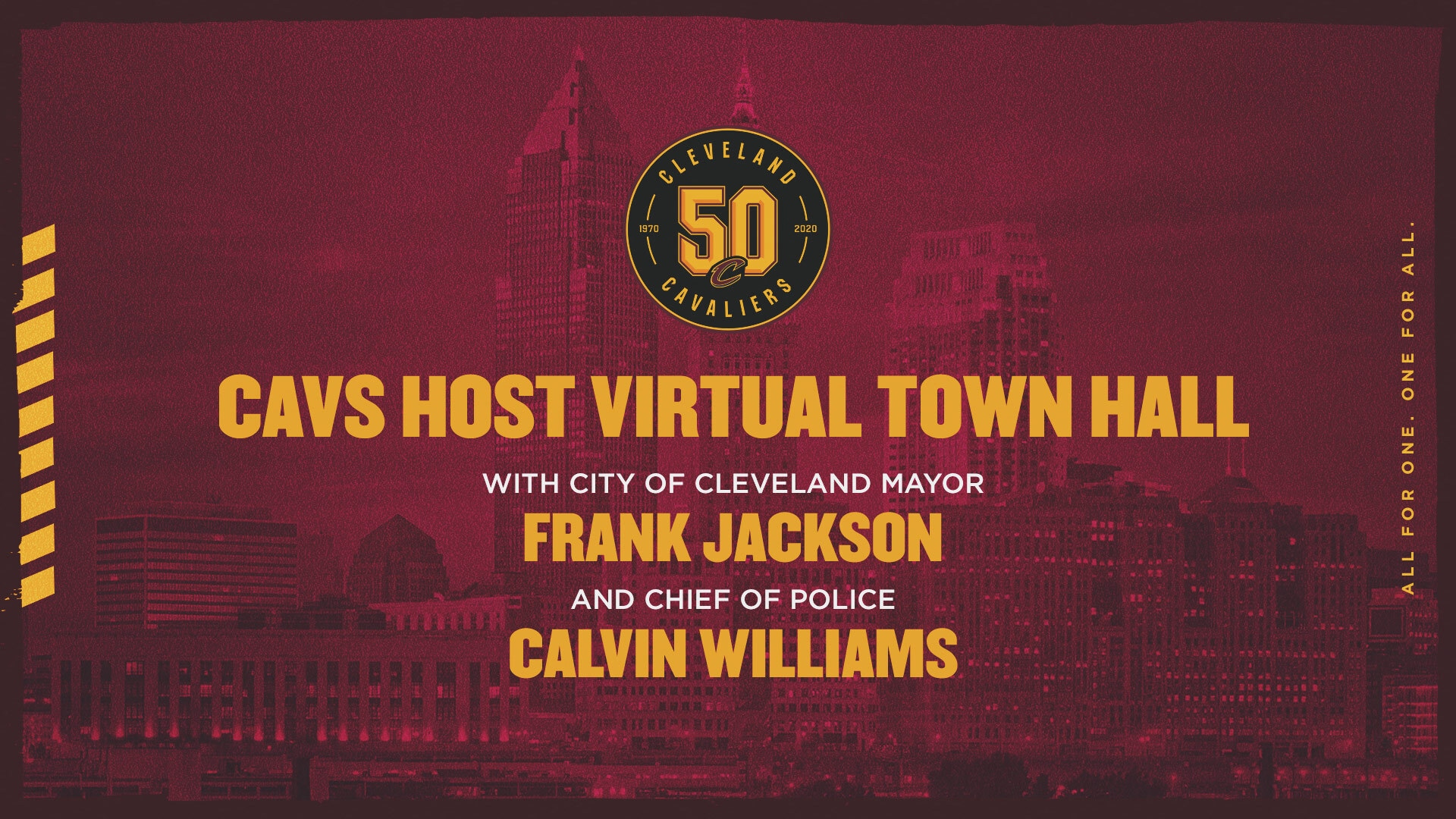Cavs Host Virtual Town Hall