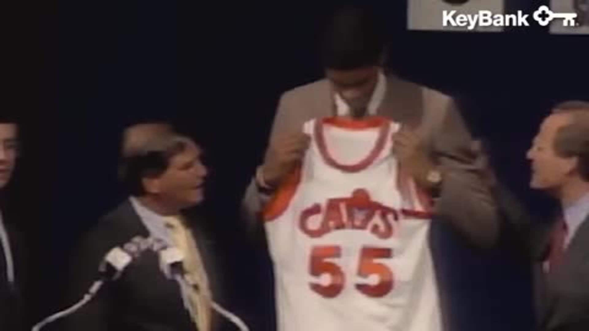 KeyBank Key Moment: Cavs Draft Daugherty & Price