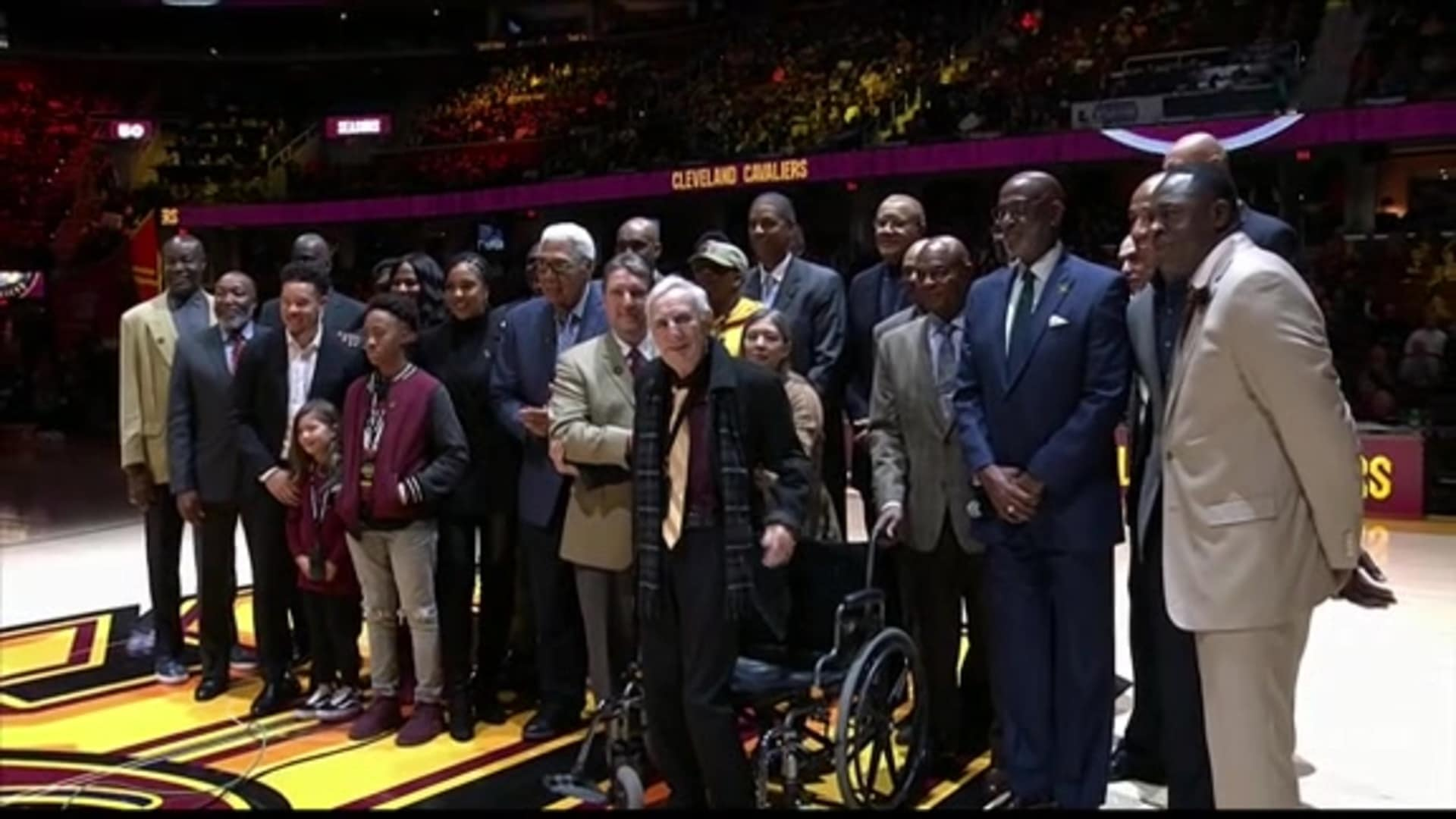 Cavaliers Inaugural Wall of Honor Recognition