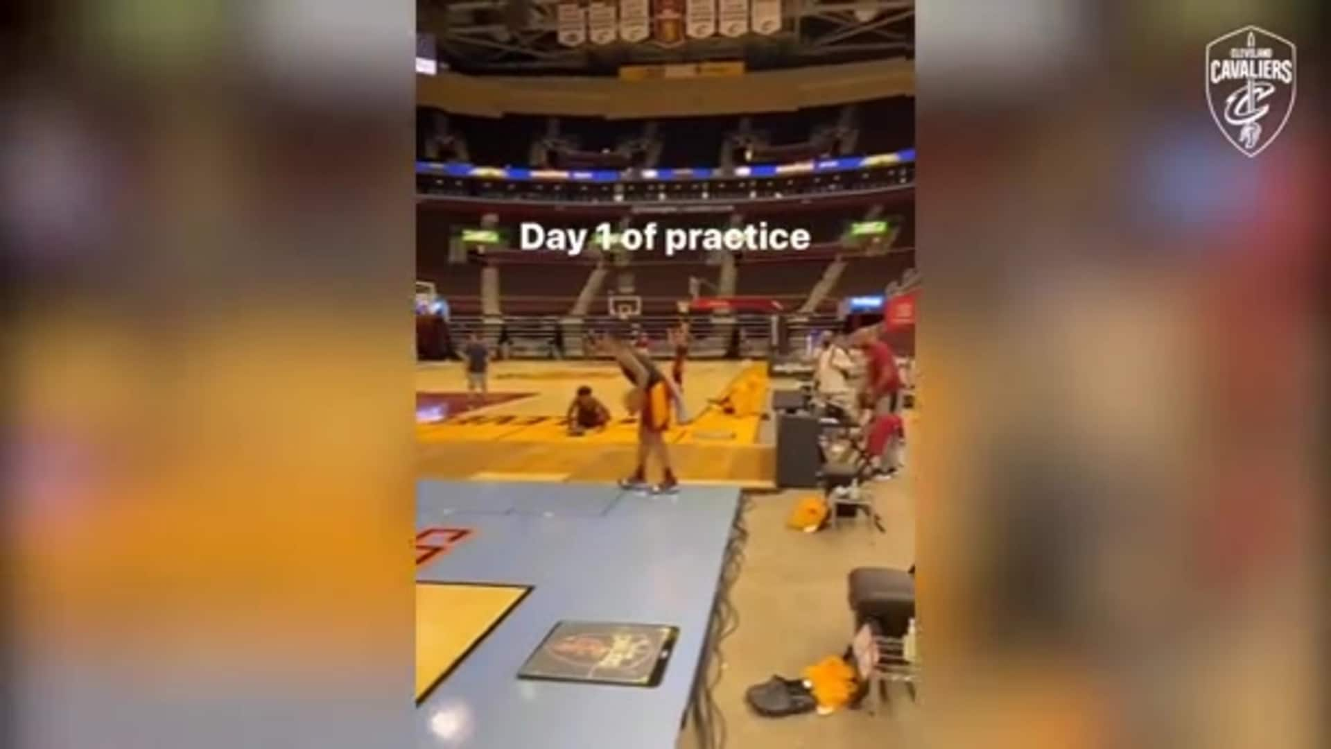 A Look Inside At the Practice Setup