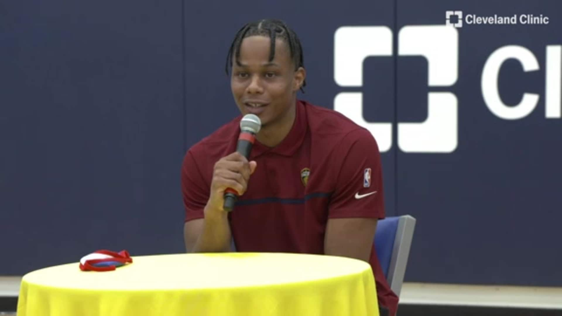 Introductory Press Conference: Isaac Okoro