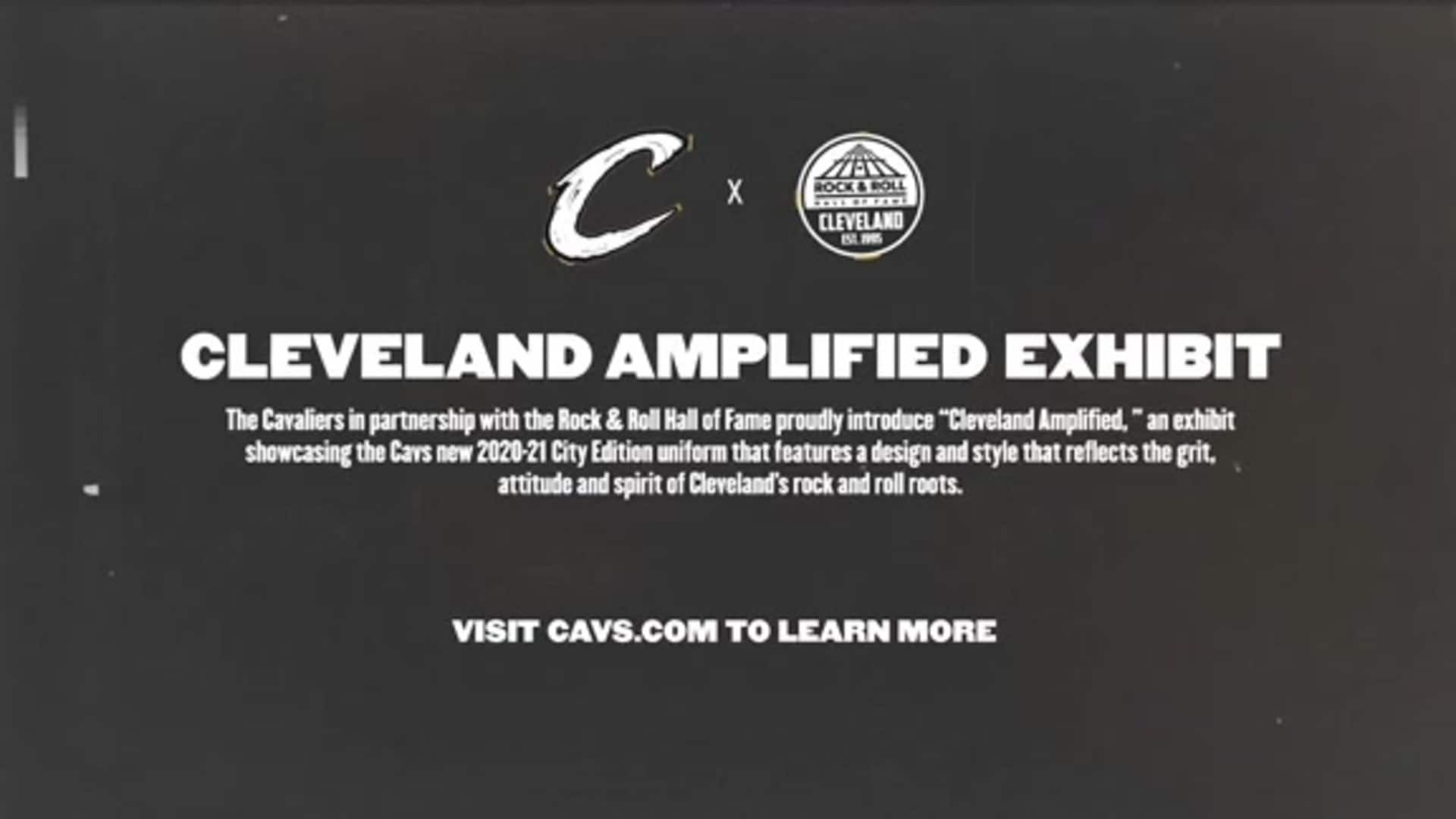Cavs, Rock and Roll Hall of Fame Unveil Cleveland Amplified Exhibit