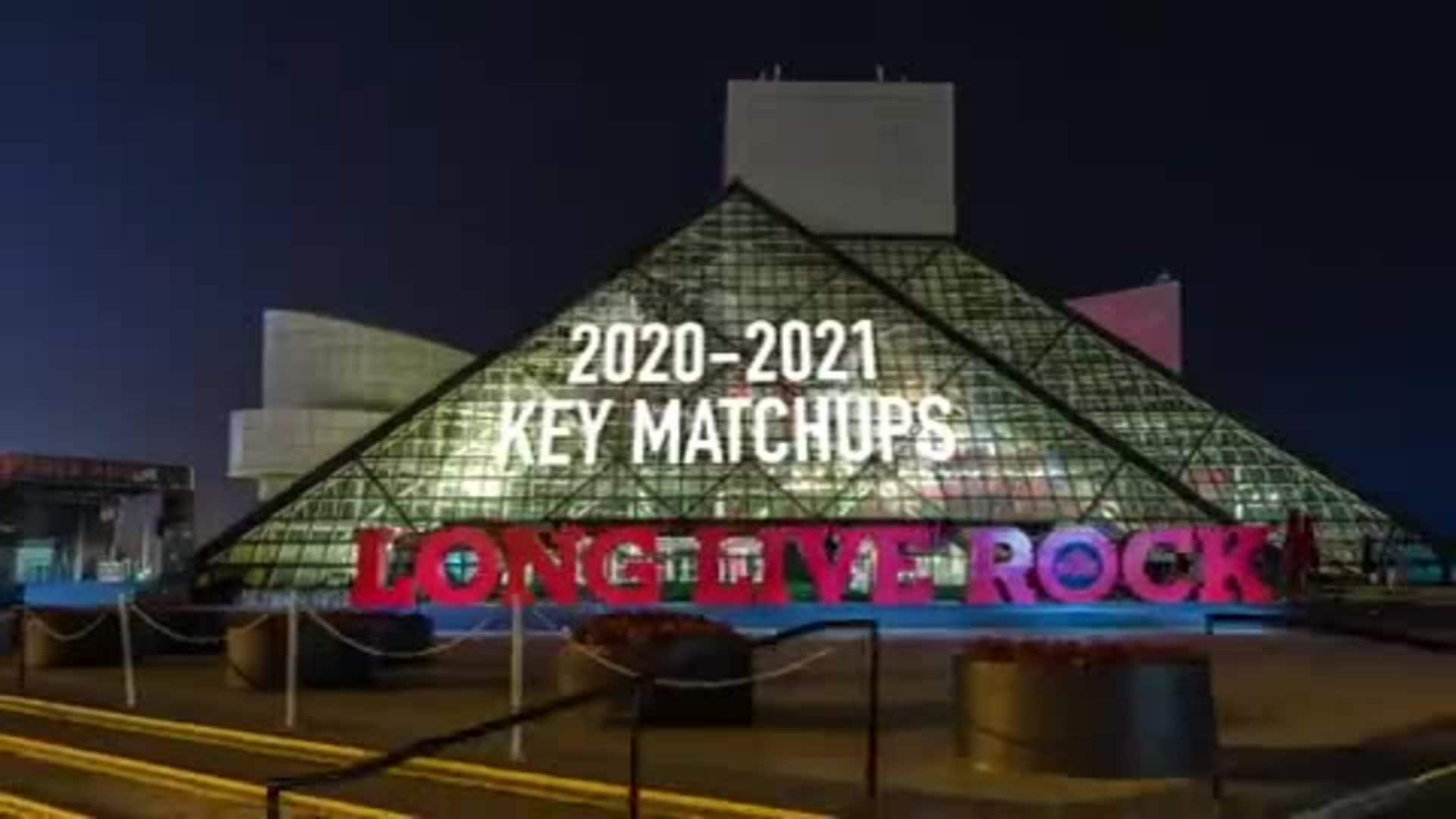 Key Matchups for the Wine & Gold in 2020-21