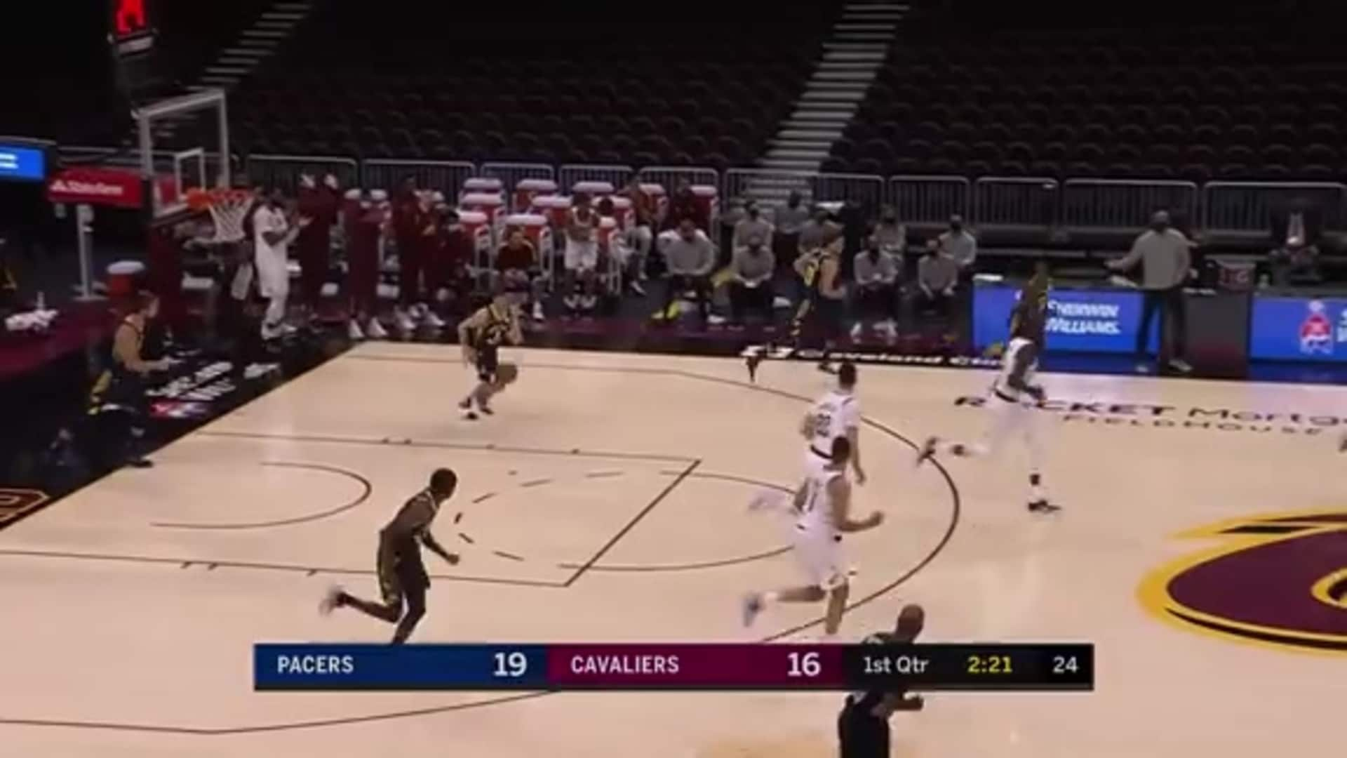 LNJ Gets Steal and Scores