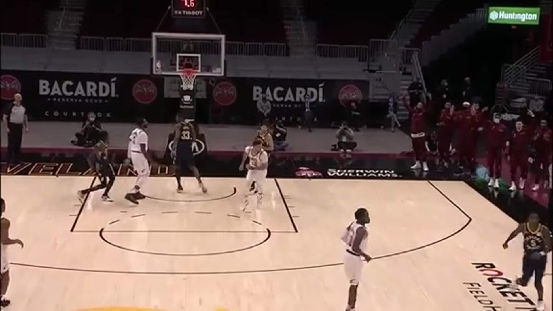 Ball Movement Leads to Garland Triple