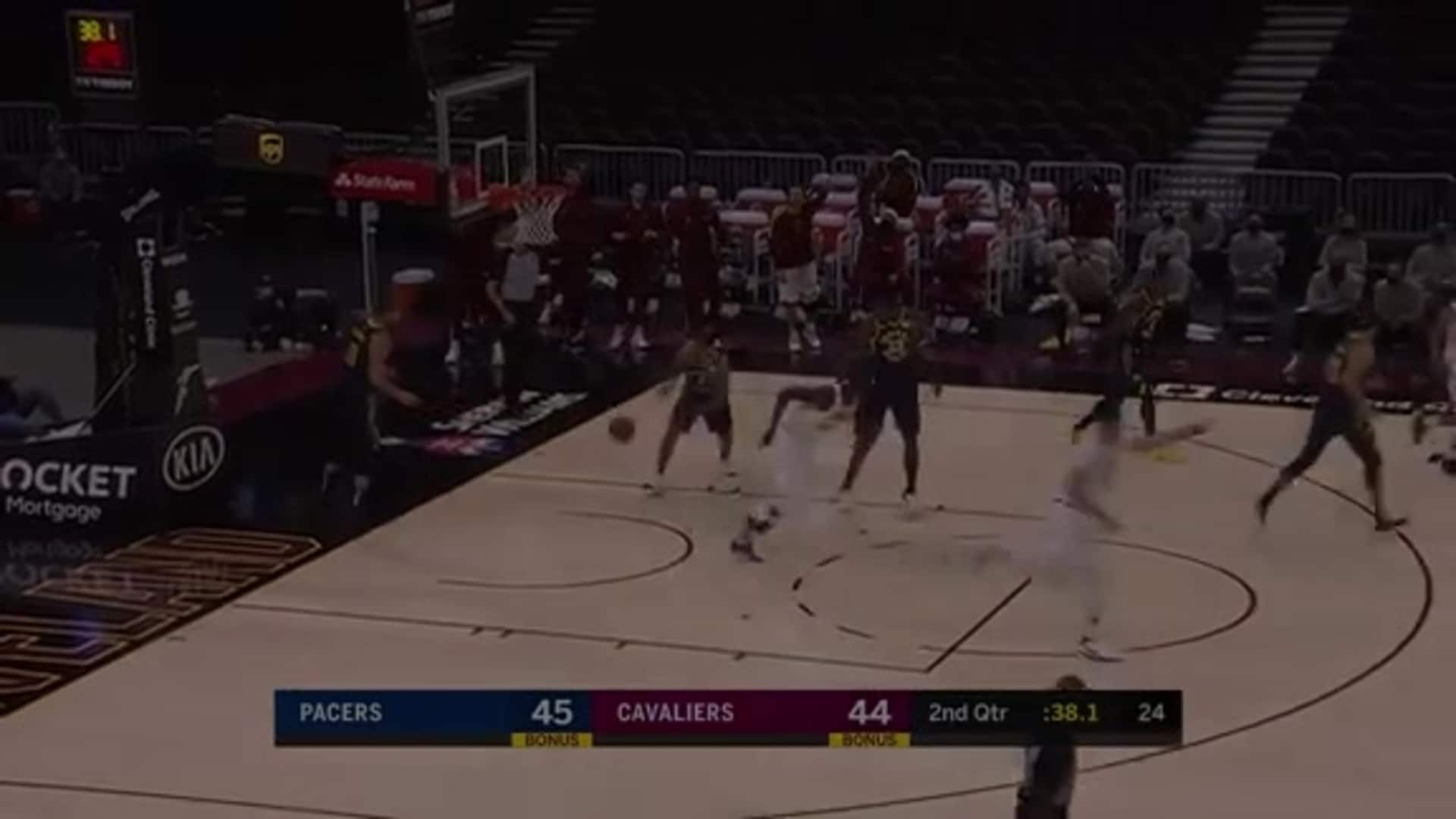 Thon Maker with a Thunderous Dunk