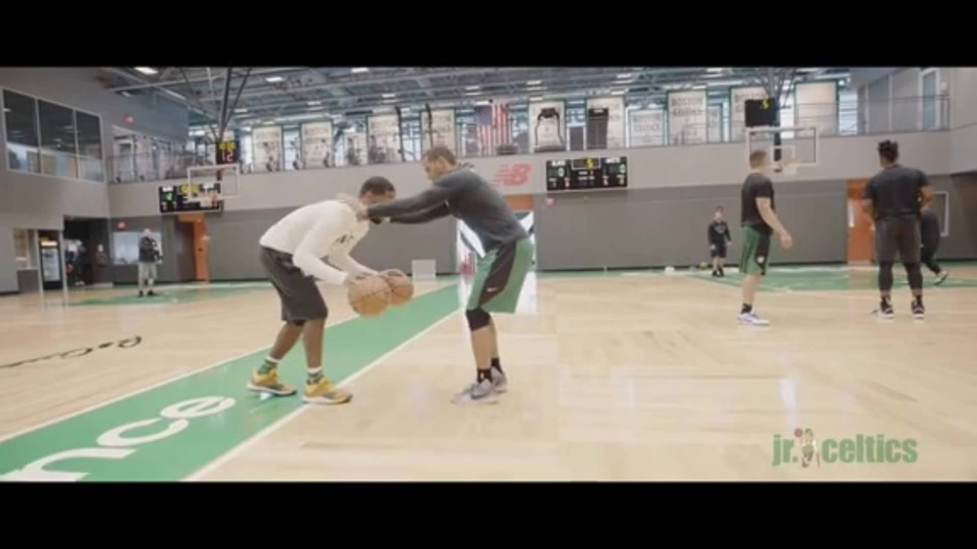 Jr. Celtics Player Tip - Changing Speed with Brad Wanamaker