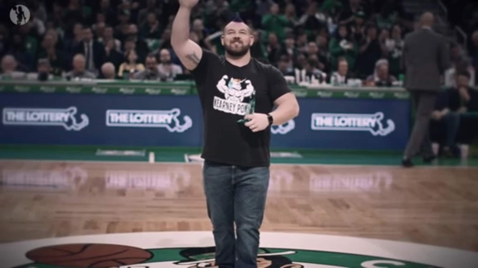 Celtics Honor LGBTQ+ Strongman Robert Kearney