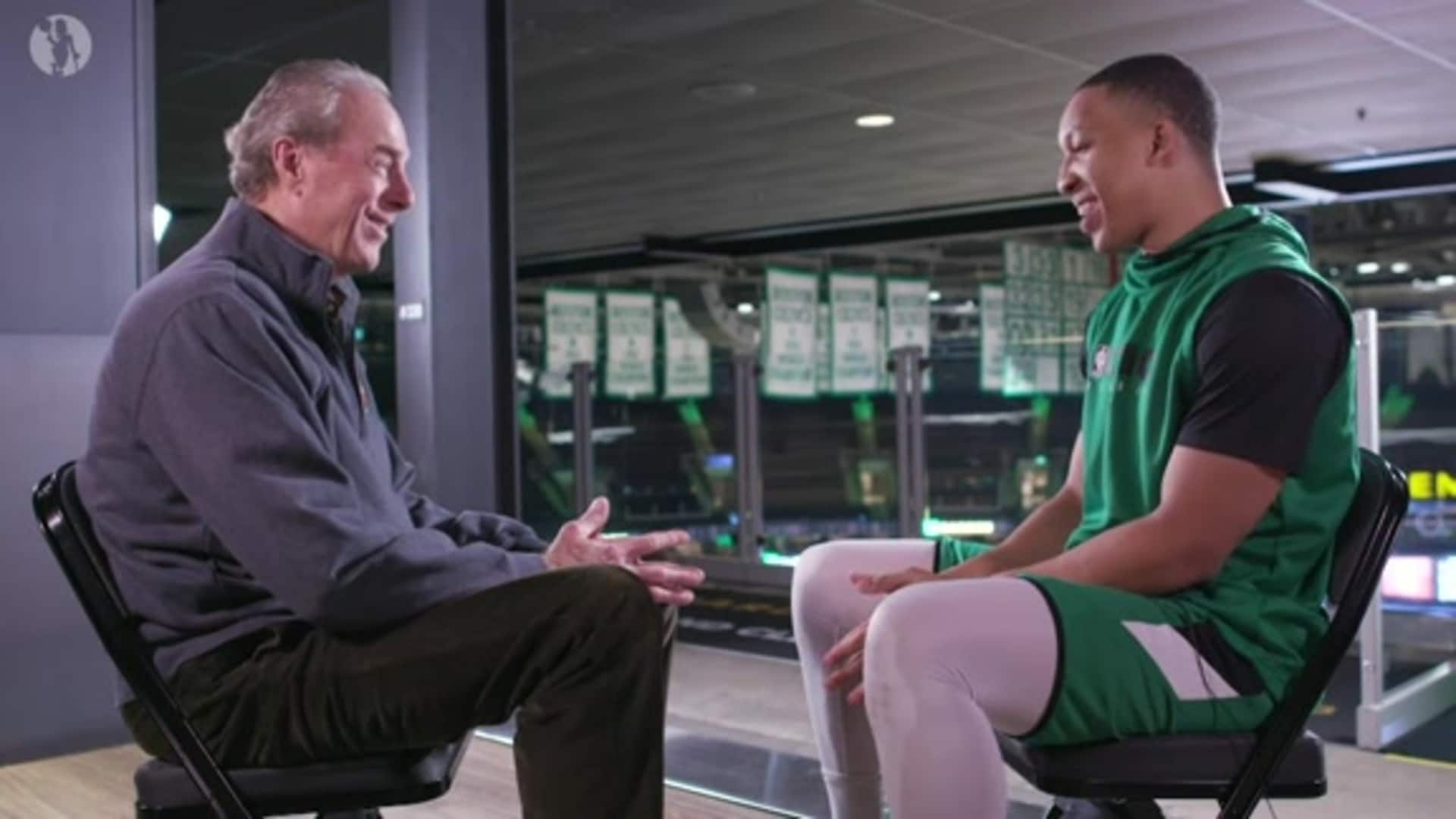 Passing the Torch - Dave Cowens & Grant Williams